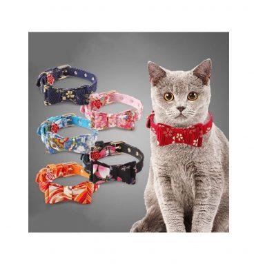 Japanese Style Bowtie Cat